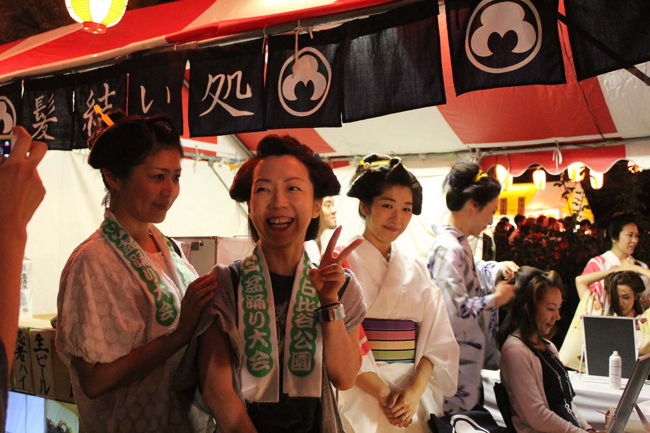 8/28・29 日比谷公園盆踊り大会