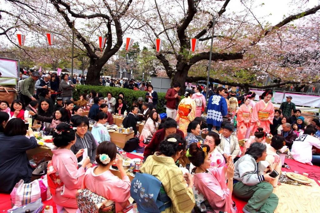 平成27年 上野恩賜公園花見宴会
